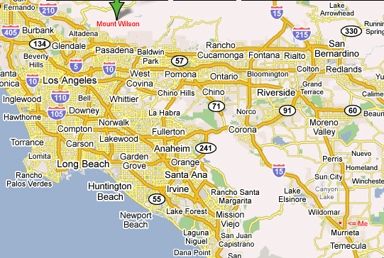 Corona California Map